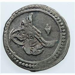 EGYPT: Mahmud II, 1808-1839, BI 5 para, AH1223 year 7. VF-EF