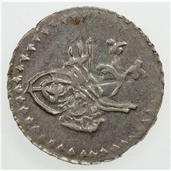EGYPT: Mahmud II, 1808-1839, BI 5 para, AH1223 year 22. EF