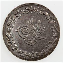 EGYPT: Mahmud II, 1808-1839, AR qirsh, AH1223 year 28. EF