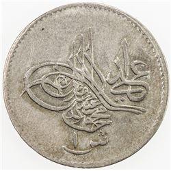 EGYPT: Mahmud II, 1808-1839, AR qirsh, AH1223 year 32. VF-EF