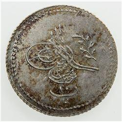 EGYPT: Abdul Mejid, 1839-1861, AR 10 para, AH1255 year 2. EF-AU