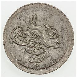 EGYPT: Abdul Mejid, 1839-1861, AR 20 para, AH1255 year 19. EF-AU