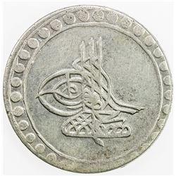 TURKEY: Mustafa III, 1757-1774, AR piastre, AH1171 year 7. EF