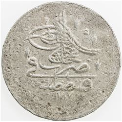 TURKEY: Abdul Hamid I, 1774-1789, BI 20 para, AH 1187 year 1. VF