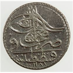 TURKEY: Abdul Hamid I, 1774-1789, BI 5 para, AH 1187 year 6. AU