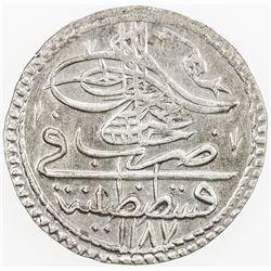 TURKEY: Abdul Hamid I, 1774-1789, BI 5 para, AH 1187 year 14. AU