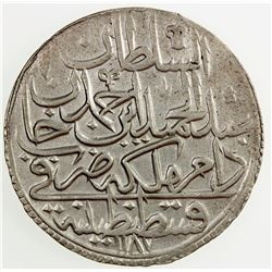 TURKEY: Abdul Hamid I, 1774-1789, BI zolota, AH 1187 year 2. EF