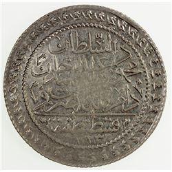 TURKEY: Mahmud II, 1808-1839, AR 30 para, AH1223 year 17. EF