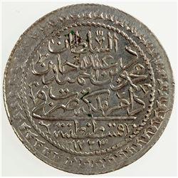 TURKEY: Mahmud II, 1808-1839, AR 30 para, AH1223 year 19. UNC