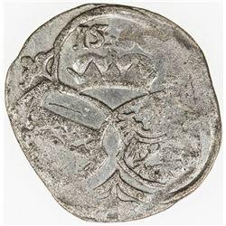 AUSTRIA: CARNIOLA (Krain): Ferdinand I, 1519-1564, AR 1/2 kreuzer, 1530. VF