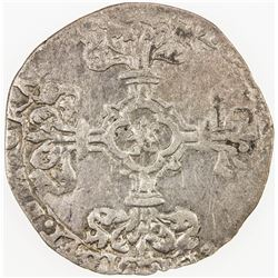BELGIUM: BRABANT: Philippe III le Beau, 1482-1506, AR patard (2.28g), ND. F-VF