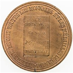 CANADA: AE token (4.59g), ND (1891). UNC
