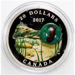 CANADA: Elizabeth II, 1952, AR 20 dollars, 2017. PF