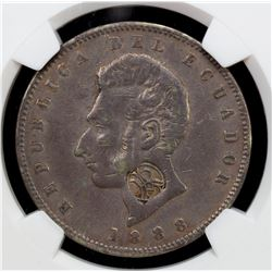 GALAPAGOS ISLANDS: AR sucre. NGC VF