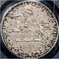 GERMANY: BRUNSWICK-WOLFENBUTTEL: Karl II, 1820-1823, AR 1/12 thaler, 1821. PCGS MS63