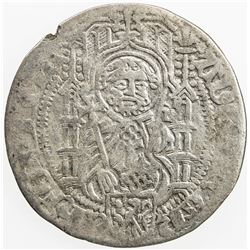 GERMANY: MAINZ (ARCHBISHOPRIC): Adolf II von Nassau, 1463-1475, AR groschen, ND. VF