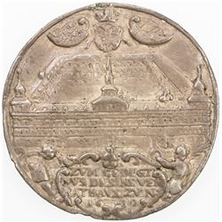 GERMANY: NUREMBERG: Imperial City, AR medal (13.01g), 1619. F-VF