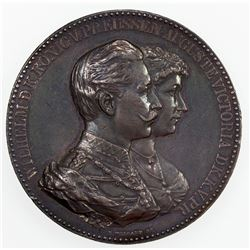 GERMANY: PRUSSIA: AR medal (51.00g), ND. AU