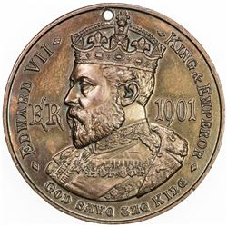 GREAT BRITAIN: AE medal (14.52g), 1902. AU