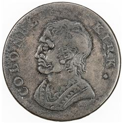 GREAT BRITAIN: EXONUMIA: AE token (8.08g), ND (ca. 1770?). VF
