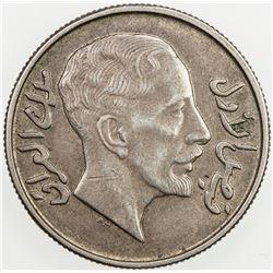 IRAQ: Faisal I, 1921-1933, AR 50 fils, 1931/AH1349. AU