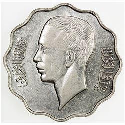 IRAQ: Ghazi I, 1933-1939, 10 fils, 1938/AH1357. AU
