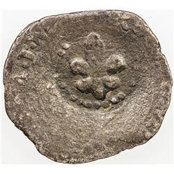 ITALIAN STATES: MODENA: Francesco I d'Este, 1629-1658, AR giorgino (1.60g), ND (1657). VG