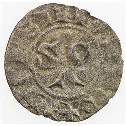 ITALIAN STATES: PAPAL STATES: John XXII, 1316-1334, BI picciolo (0.48g), Macerata, ND. VF