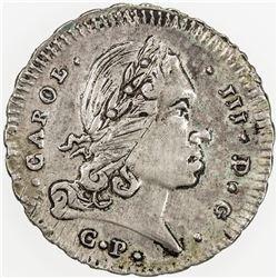 ITALIAN STATES: SICILY: Carlo III, 1720-1734, AR 3 tari, 1732. VF-EF