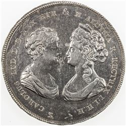 ITALIAN STATES: TUSCANY: Carlo Ludovico & Maria Aloysia, 1803-1807, AR francescone (10 lire), 1807.