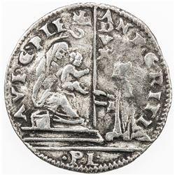 ITALIAN STATES: VENICE: Andrea Gritti, 1523-1538, AR 6 soldi (1.29g). VF