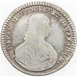 MALTA: Francisco Ximenez de Texada, 1773-1775, AR scudo, 1774. F