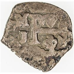MEXICO: Felipe V, 1700-1746, AR 1/2 real (1.36g), DM (1706-1724)-Mo. VF