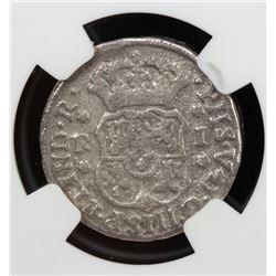 MEXICO: Felipe V, 1700-1746, AR real, 1747-Mo. PCGS G-VG