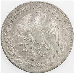 MEXICO: Republic, AR 8 reales, 1828-Mo. VF-EF