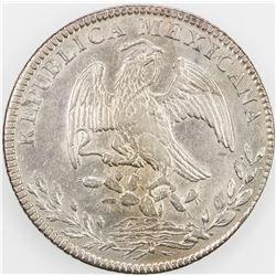 MEXICO: Republic, AR 8 reales, 1846-Ca. EF