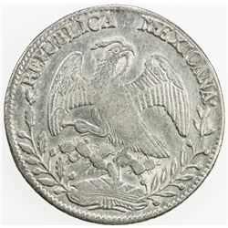MEXICO: Republic, AR 8 reales, 1854-Do. EF