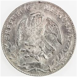 MEXICO: Republic, AR 8 reales, 1860-C. AU