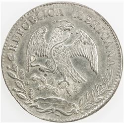 MEXICO: Republic, AR 8 reales, 1860-Do. EF