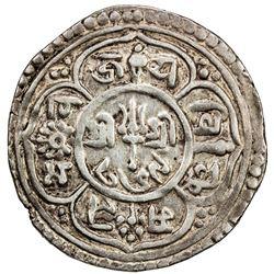 PATAN: Jaya Vishnu Malla, 1729-1745, AR Mohar (5.41g), NS849 (1729). VF