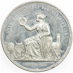 SWISS CANTONS: BERN: medal (29.51g), 1880. AU