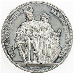 SWISS CANTONS: BERN: medal (24.56g), 1885. EF