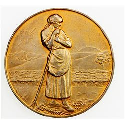 SWISS CANTONS: BERN: AR medal (49.08g), 1925. AU