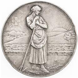 SWISS CANTONS: BERN: AR medal (23.15g), 1925. AU