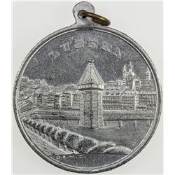 SWISS CANTONS: LUZERN: medal (6.67g), 1901. AU