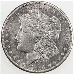 UNITED STATES: 1 dollar, 1884-S