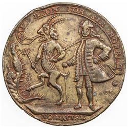 UNITED STATES:medal (13.27g), ND [1741]. F-VF