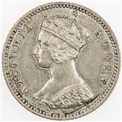 CHINA: HONG KONG: Victoria, 1837-1901, AR 10 cents, 1882-H. VF-EF