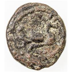 MEDIEVAL SOUTH INDIA: Chandra Sahib, 1749-1752, AE kash (1.84g). F-VF