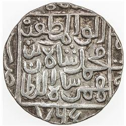 INDIA SULTANATES: KULBARGA (BAHMANIDS): Muhammad I, 1359-1375, AR tanka, Ahsanabad, AH765. VF